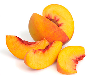 Fresh Frozen Peeled Peach