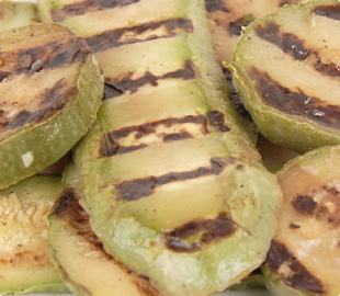 Grilled Sliced Zucchini