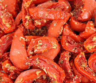 Oven Roasted Semi-Dried IQF Frozen Marinated Tomatoes