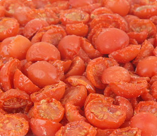 Oven Roasted Semi-Dried IQF Frozen 1/2 Halves Cherry Tomatoes
