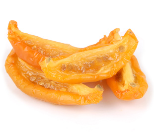 Oven Roasted Semi-Dried IQF Frozen  Segment Yellow Tomatoes