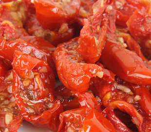 Oven Roasted Semi-Dried Pasteurized Segment Tomatoes