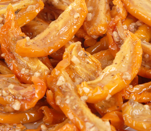 Oven Roasted Semi-Dried Pasteurized Segment Yellow Tomatoes